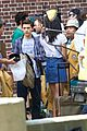 tom holland spotted on spider man set with newcomer jacob batalon 01