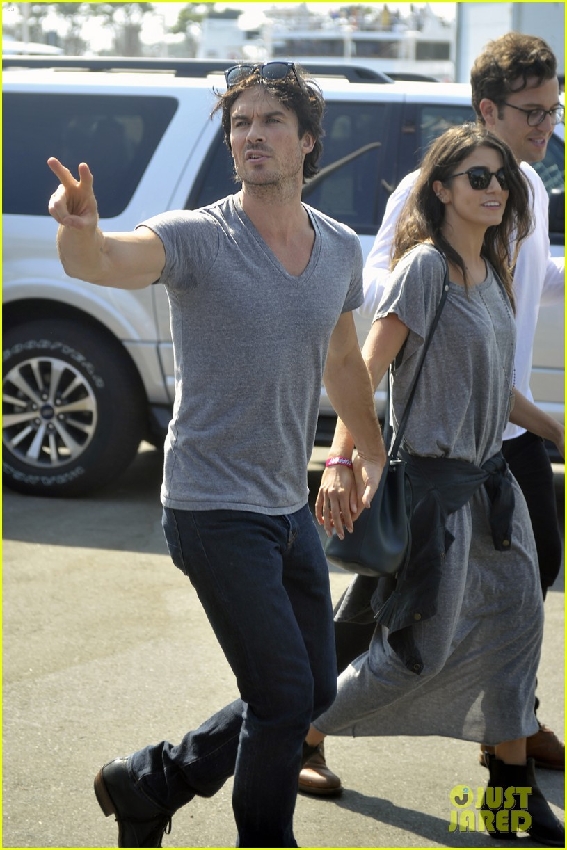 ian somerhalder nikki reed leave comic con 013716944