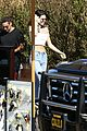 kendall jenner heads to the beach for lunch 13