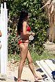 adriana lima lounges bikini greece 09