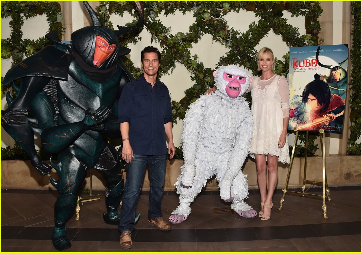 matthew mcconaughey charlize theron kubo photo call 033702180