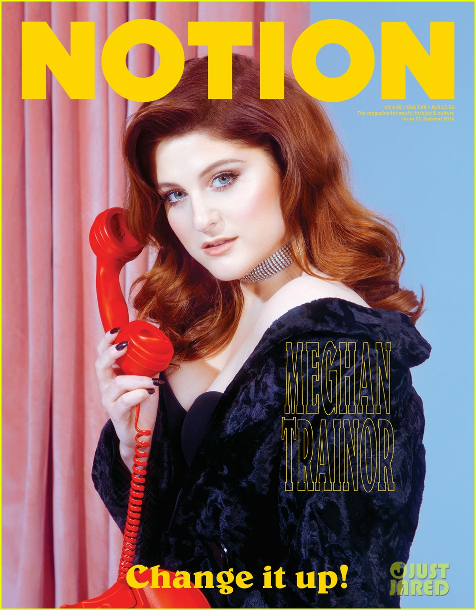 meghan trainor notion magazine issue 73 cover pics 013701440