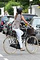 pippa middleton shows off her engagement ring while bike riding through london 28