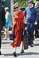 sienna miller orange beauty wimbledon 01