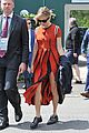 sienna miller orange beauty wimbledon 20