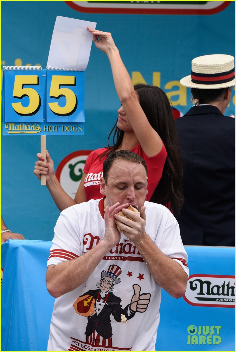 Nathans Hot Dogs Th Aniversary