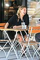 elizabeth olsen chats it up on her lunch date 13