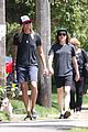 ellen page girlfriend samantha thomas walk their dog 05