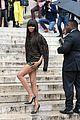 irina shayk naomi campbell versace paris show 09