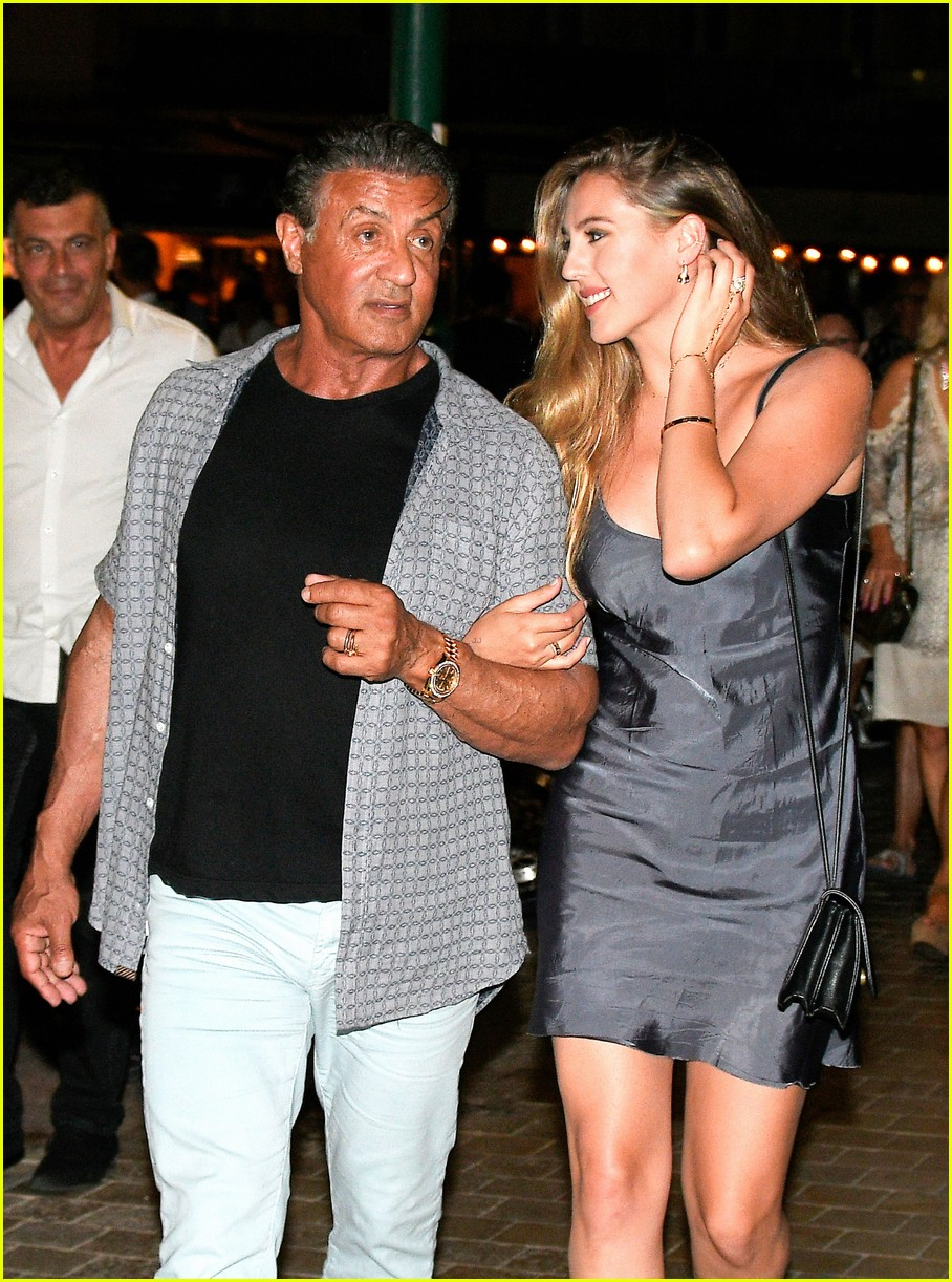 sylvester stallone celebrates 70th birthday in st tropez 073702815