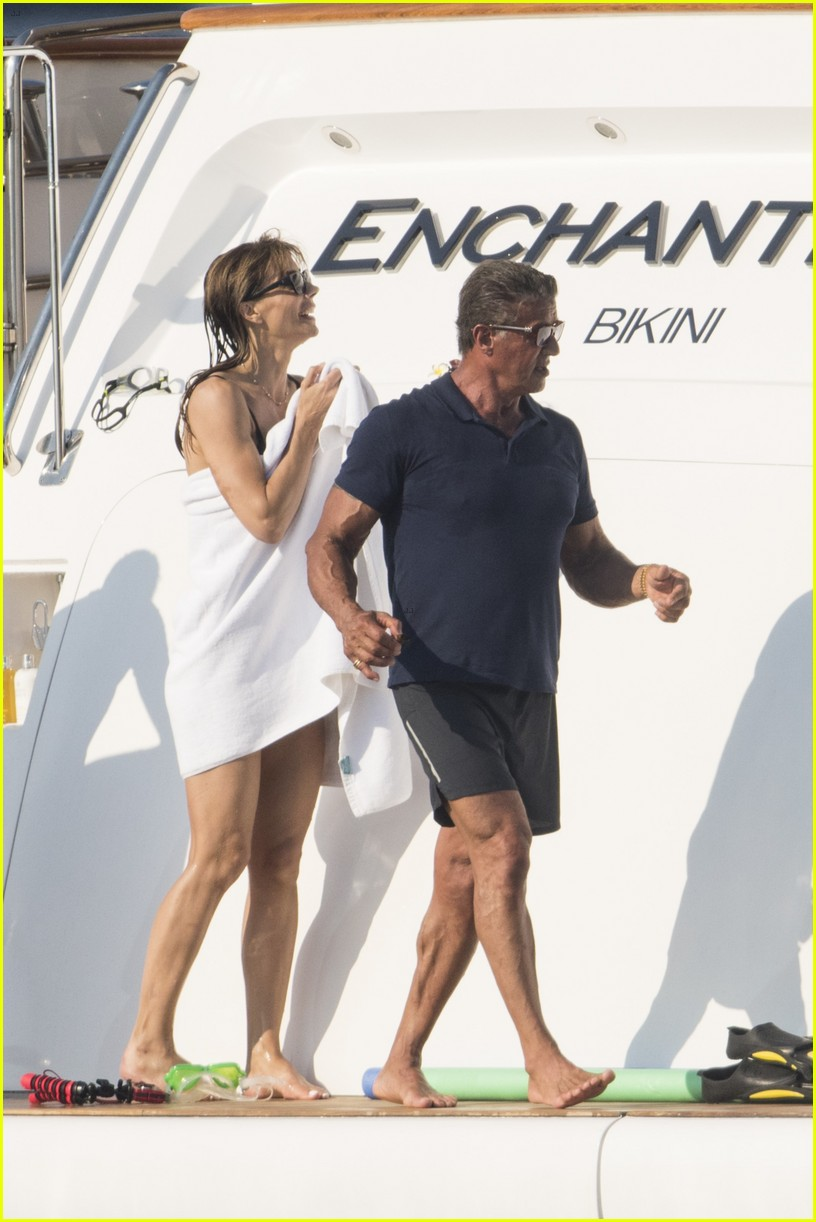 sylvester stallone celebrates 70th birthday in st tropez 18 - Carrie Underwood