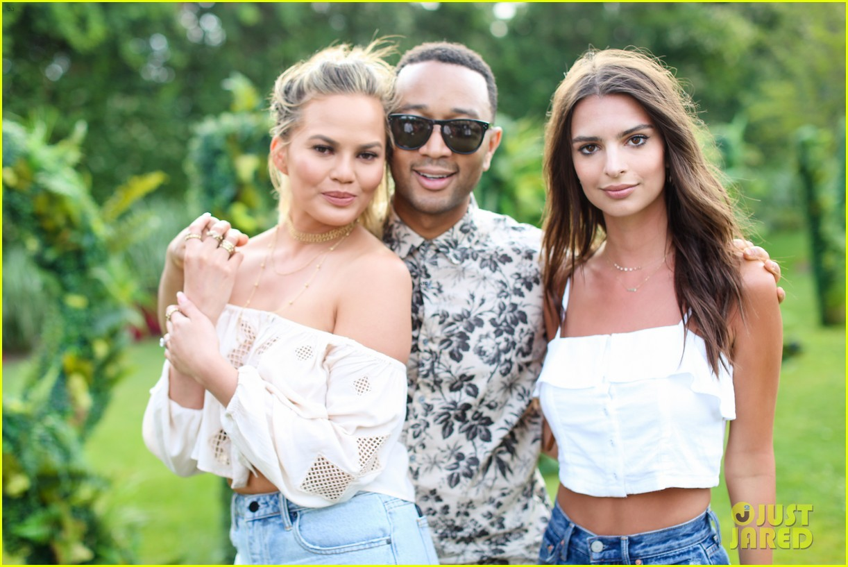 chrissy teigen hosts revolve fourth of july bash with john legend emily ratajkowski 113699285