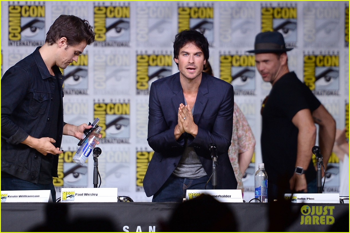 paul wesley birthday ian somerhalder tvd comic con 163715151