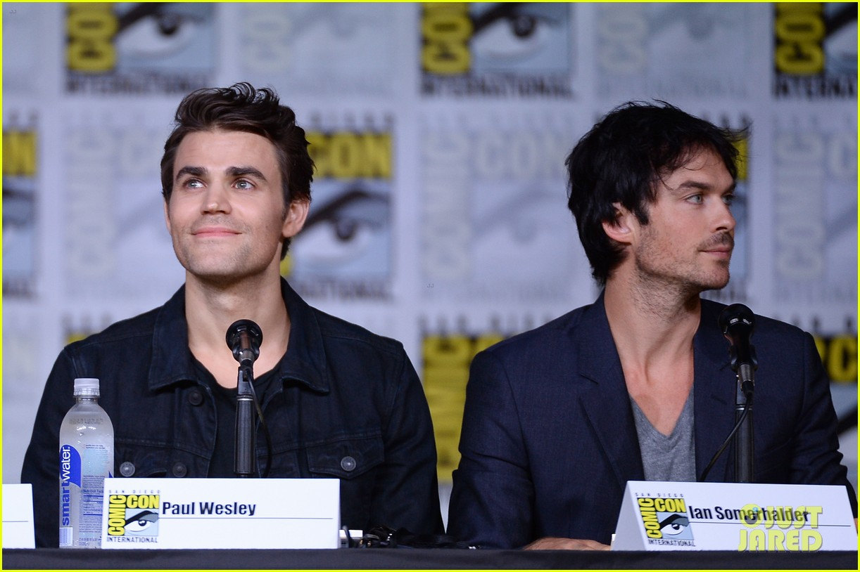 paul wesley birthday ian somerhalder tvd comic con 243715159
