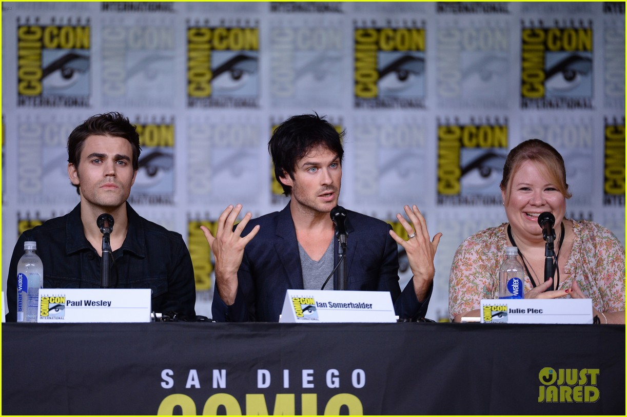 paul wesley birthday ian somerhalder tvd comic con 253715160