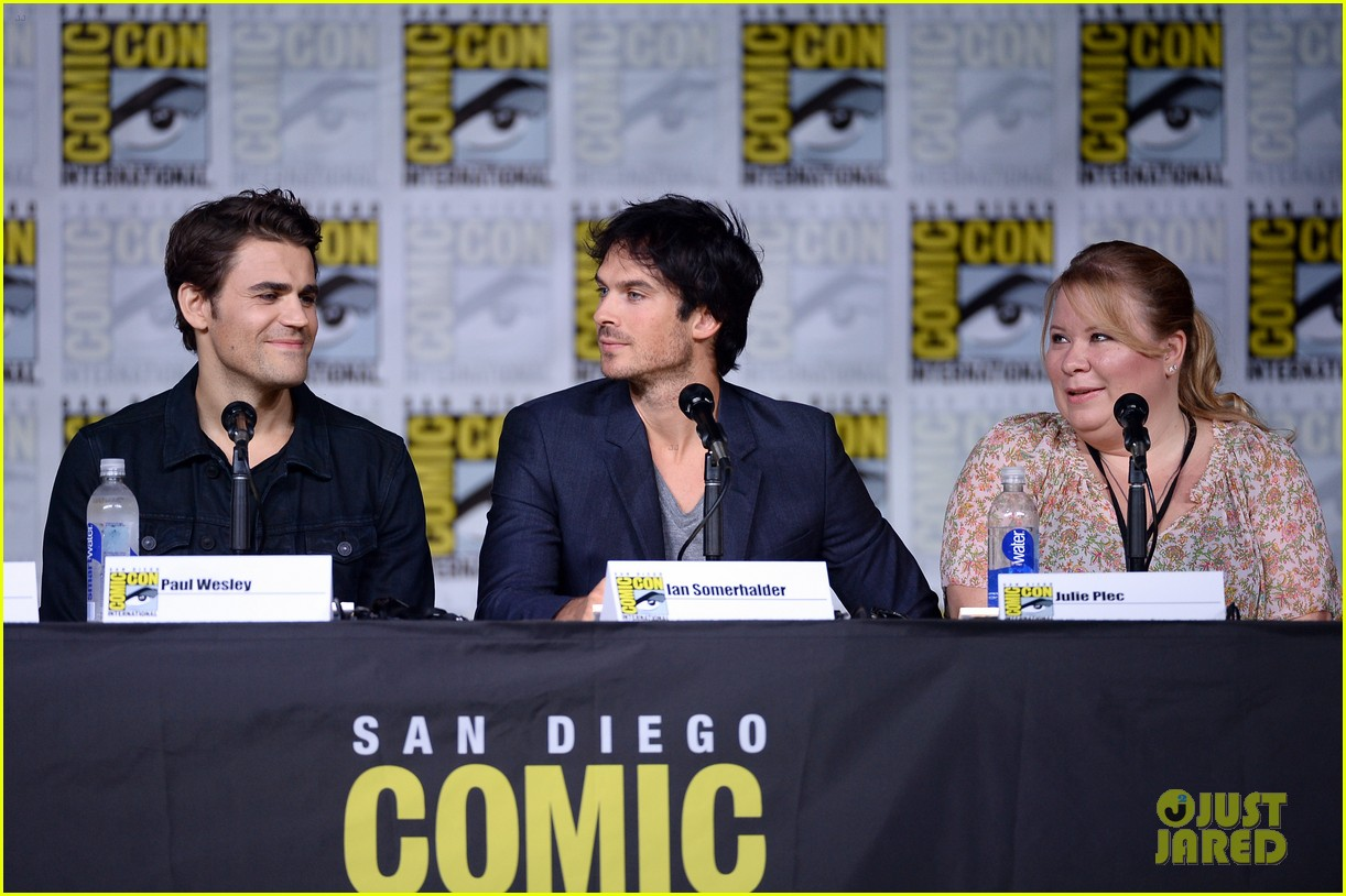 paul wesley birthday ian somerhalder tvd comic con 293715164