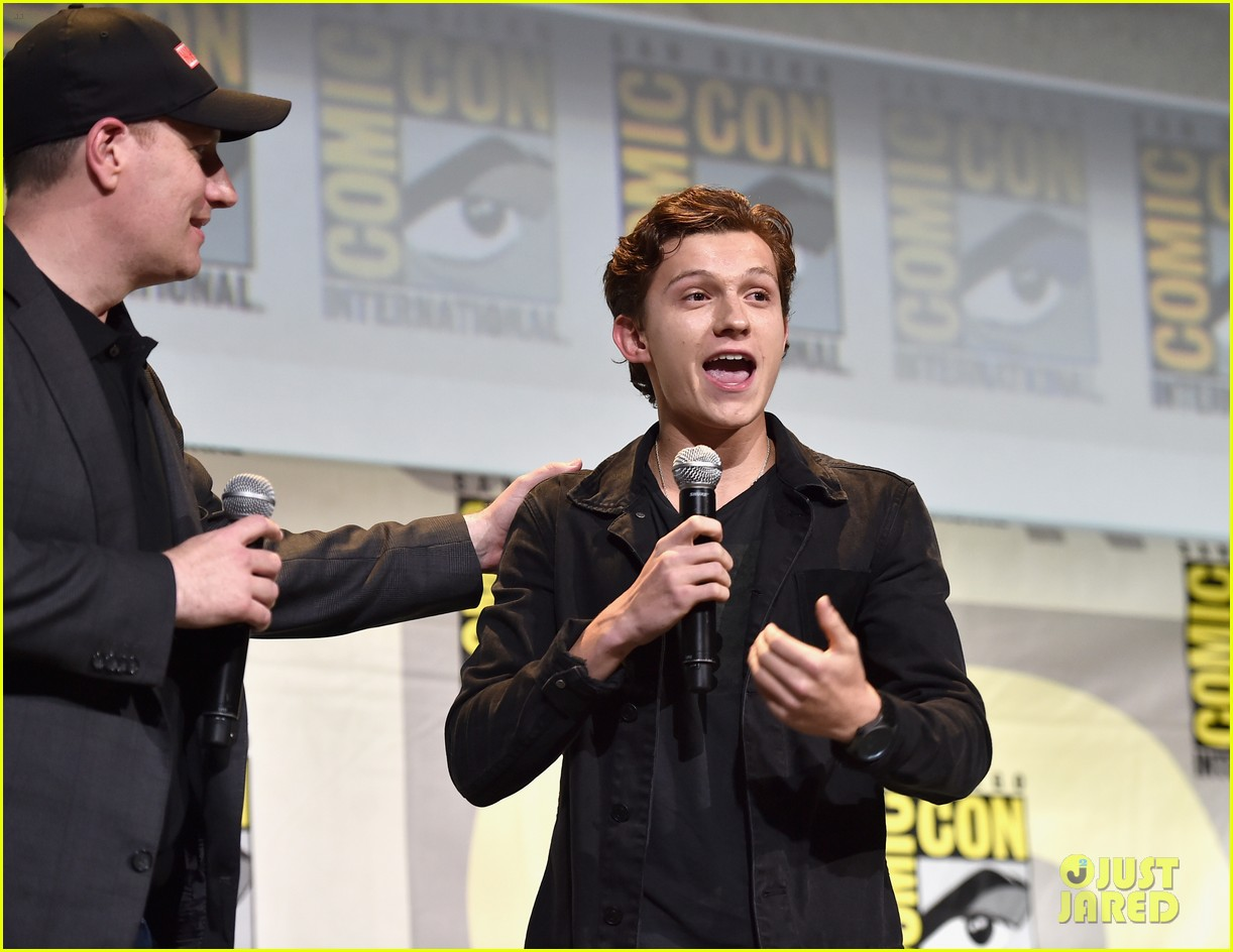 Tom Holland Amp Zendaya Lead Spider Man Homecoming Cast