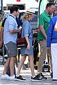 elizabeth banks spots matthew mcconaughey in the stands at the rio olympmics 2016 09