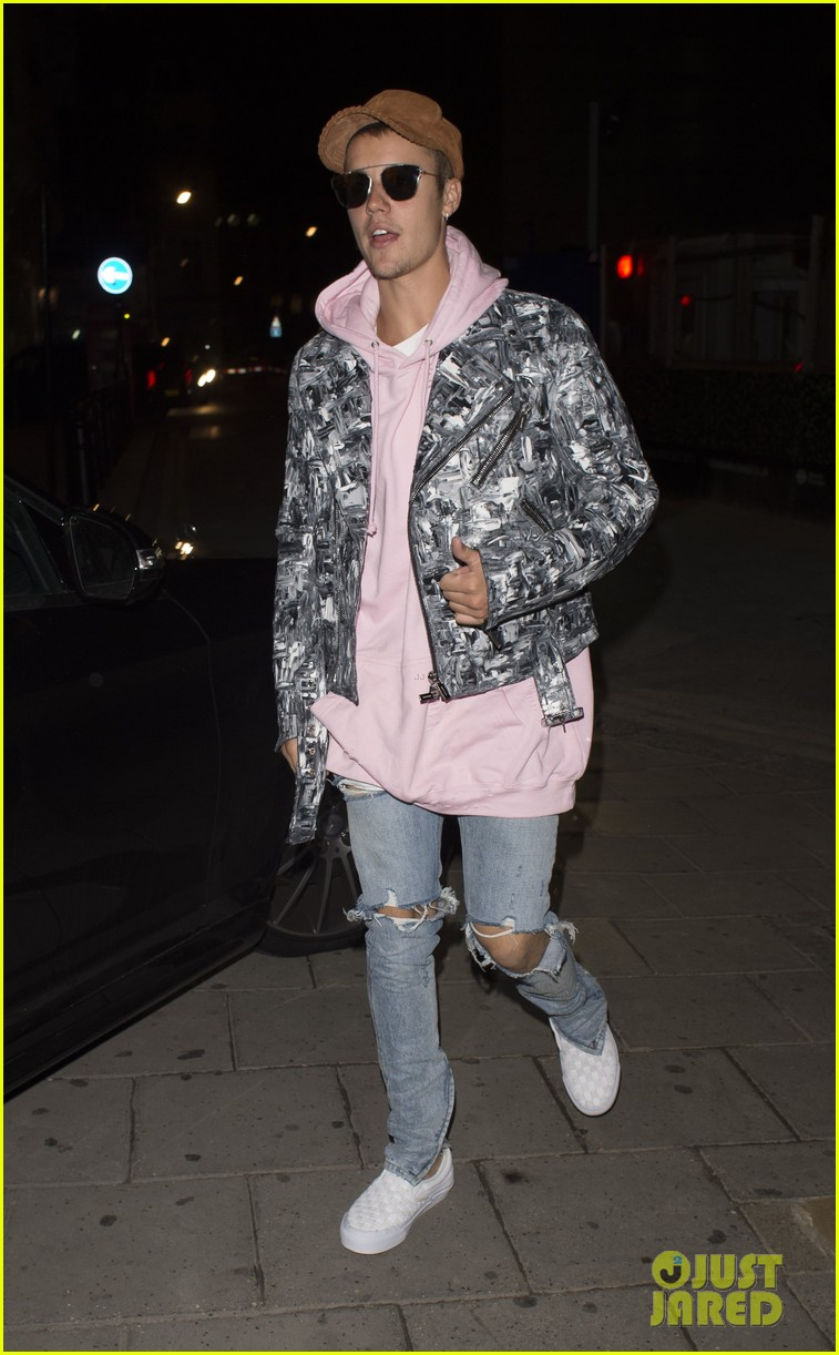 Justin Bieber & Bronte Blampied Party Together in London