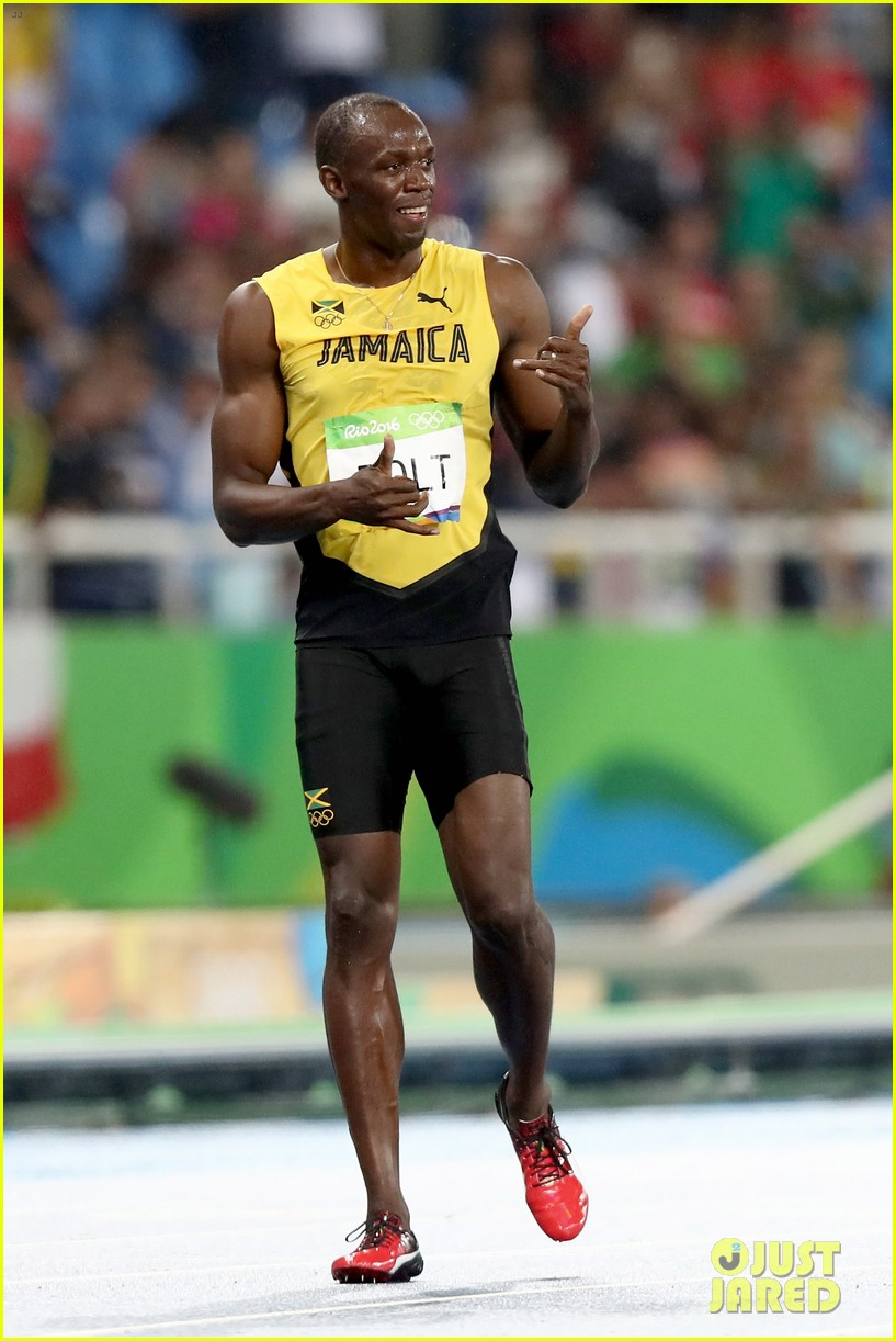 Usain Bolt Wins Second Straight Gold Medal at Rio Olympics ...