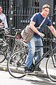 gerard butler bikes in london 13