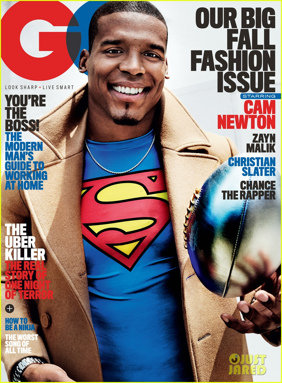 cam newton talks race his son chosen more for gq photo cam newton talks race his son chosen more for gq