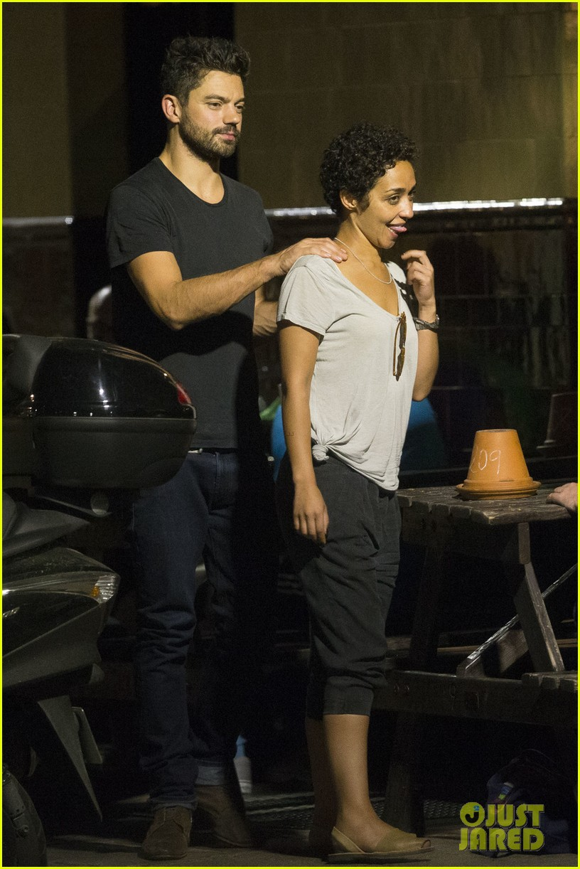 dominic cooper ruth negga have low key date night in london 013745366