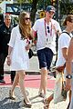eddie redmayne wife hannah rio beach volleyball 37