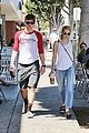 on again off again couple emma roberts evan peters reunite for lunch00608mytext