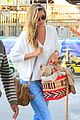 gisele bundchen heads out of rio after olympics 08
