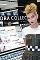 hailey baldwin sephora shop justine skye second bday party 18