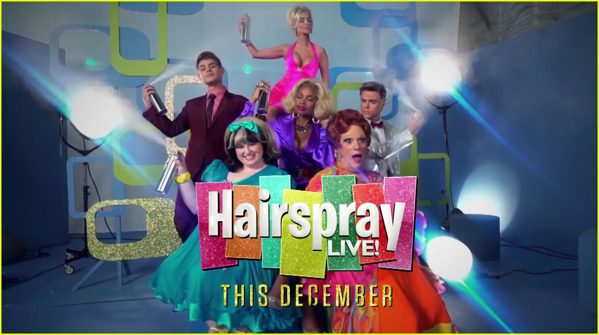 hairspray promo gives first look at cast in costume 033737621