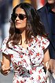 salma hayek gets ready for her jimmy kimmel live appearance 01