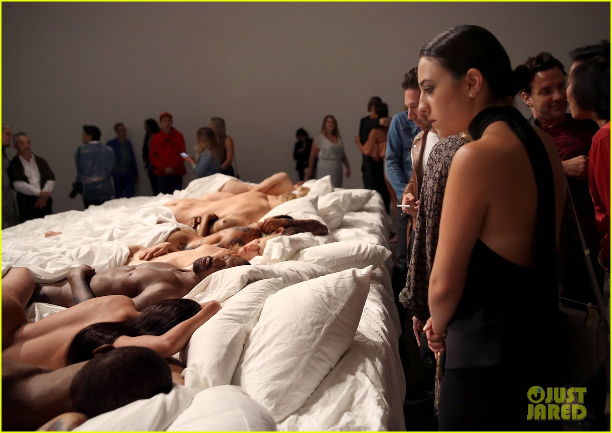 Kanye West Opens Art Gallery Featuring His Famous Bed