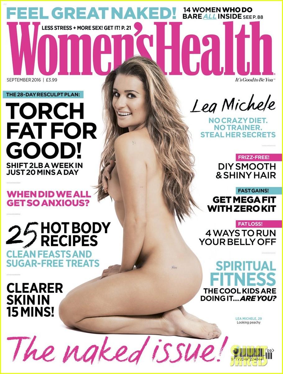 lea michele reveals finn tattoo magazine 013723050