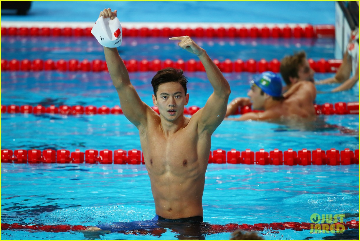 Chinese Olympic Swimmer Ning Zetao Takes the Internet By
