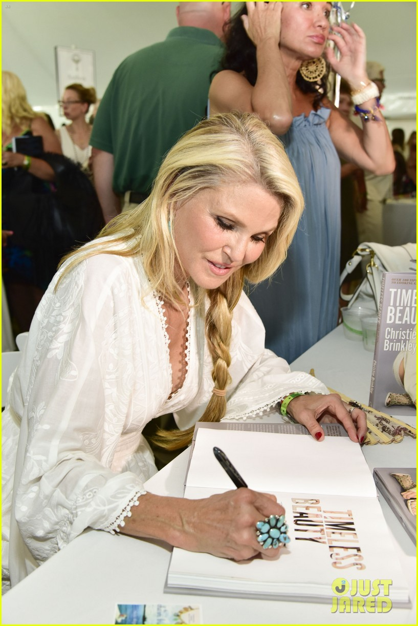 ac22a1f62d21 Gwyneth Paltrow & Christie Brinkley Celebrate Author's Night in the Hamptons