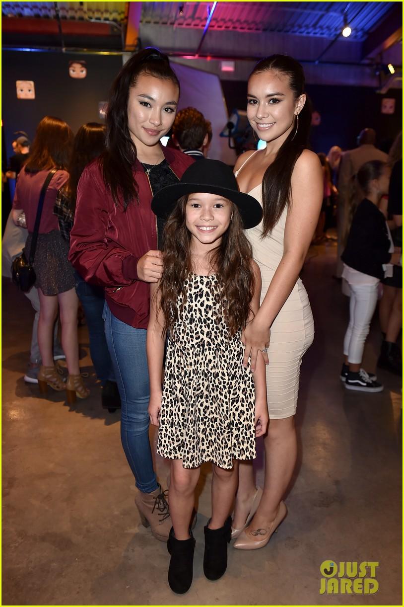Adventures In Babysitting Cast Plays Disney Mix App At