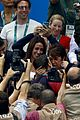 michael phelps kisses baby boomer after big olympics wins 12