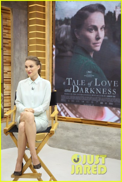 natalie portman says it was empowering to write direct star in a tale of love and darkness 053733979