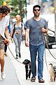 Photo 8 of Zachary Quinto & Miles McMillan Take Their Dogs for a Walk in NYC