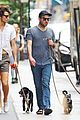 zachary quinto and miles mcmillan take their dogs for a walk in nyc 08