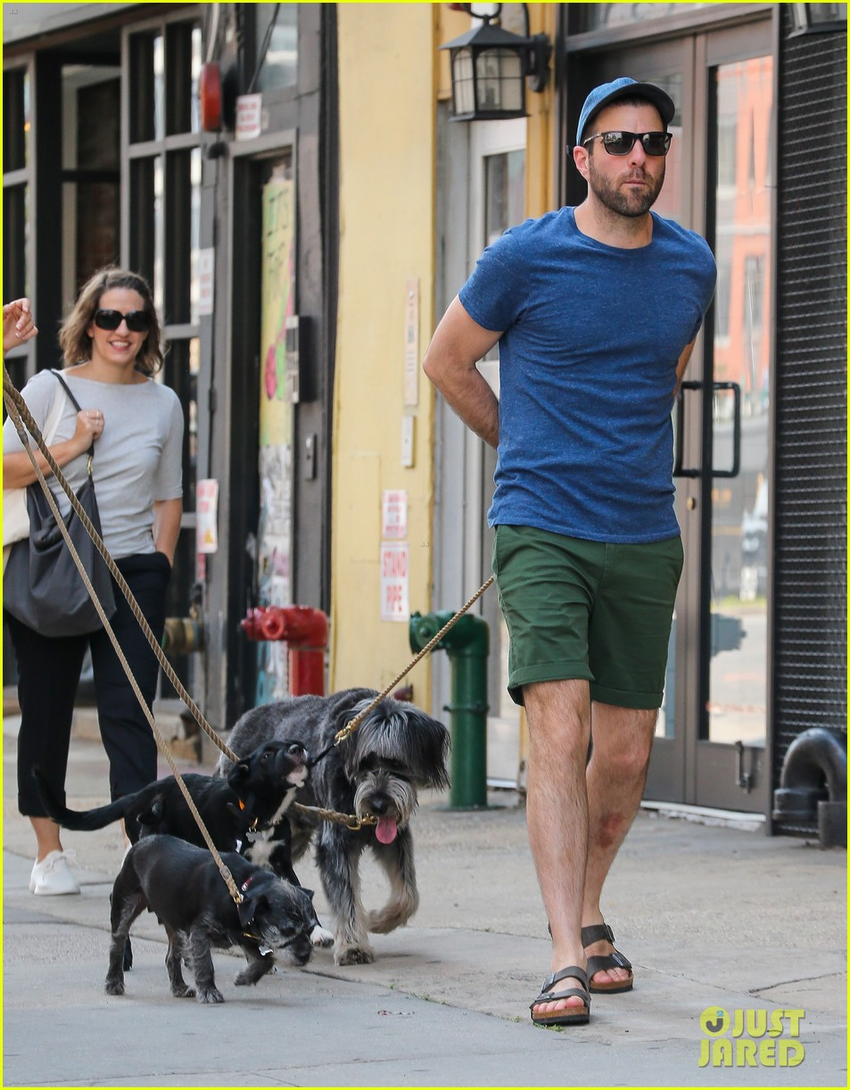 zachary quinto walks dogs nyc 063728752