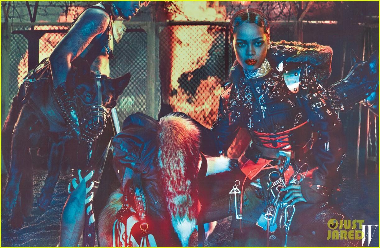 rihanna w magazine inside images 023723829