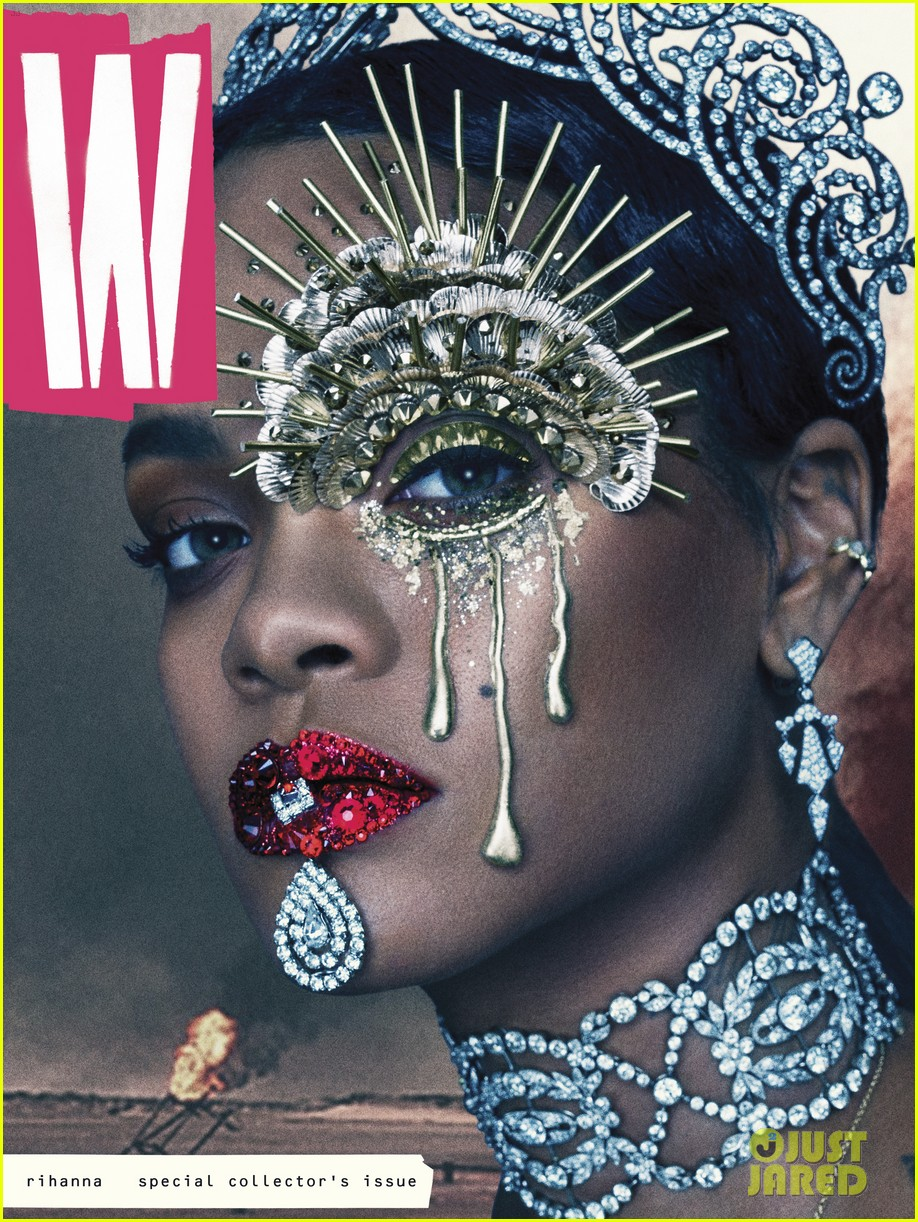 rihanna w magazine inside images 043723831