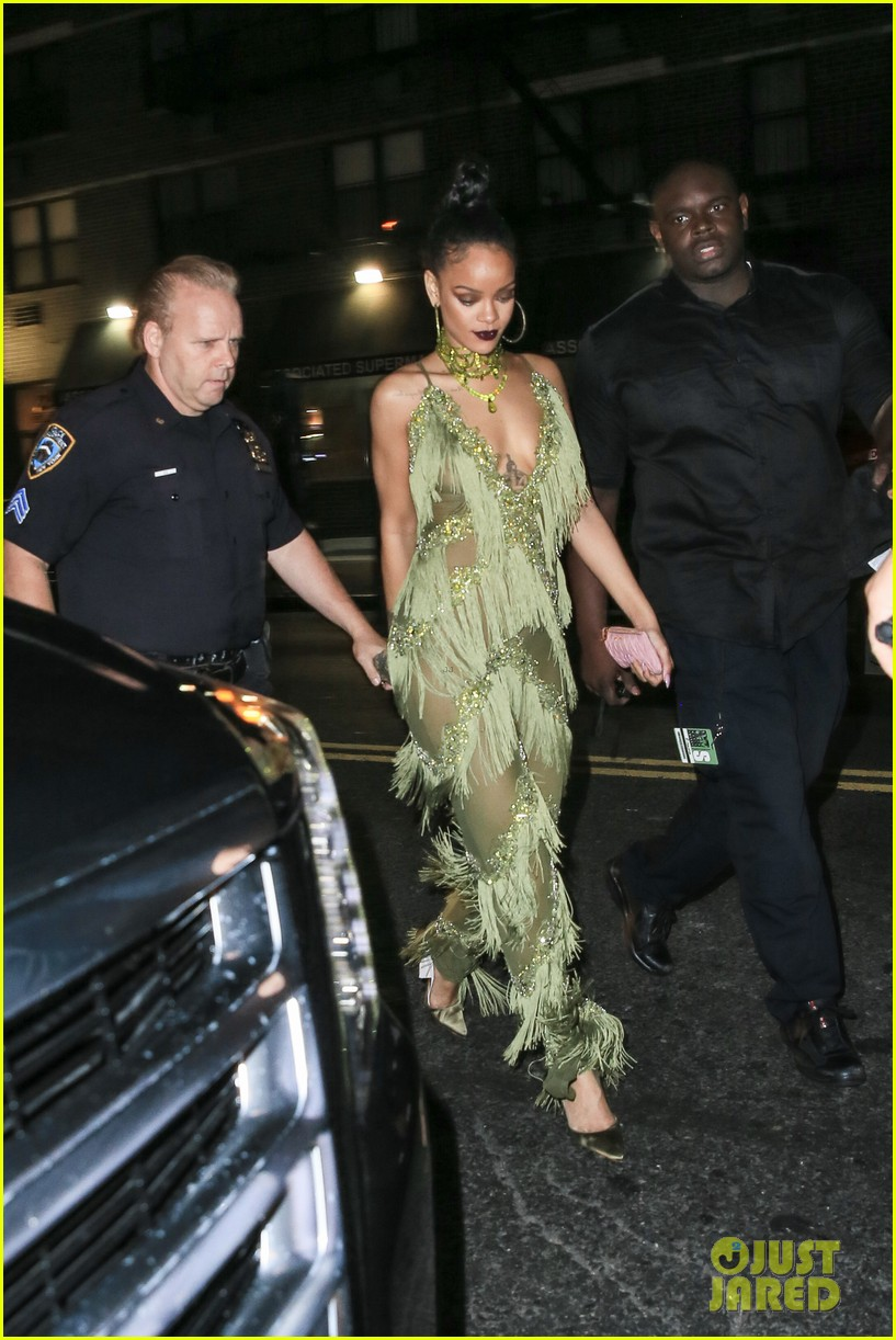 rihanna drake leave vmas after party together 153744248