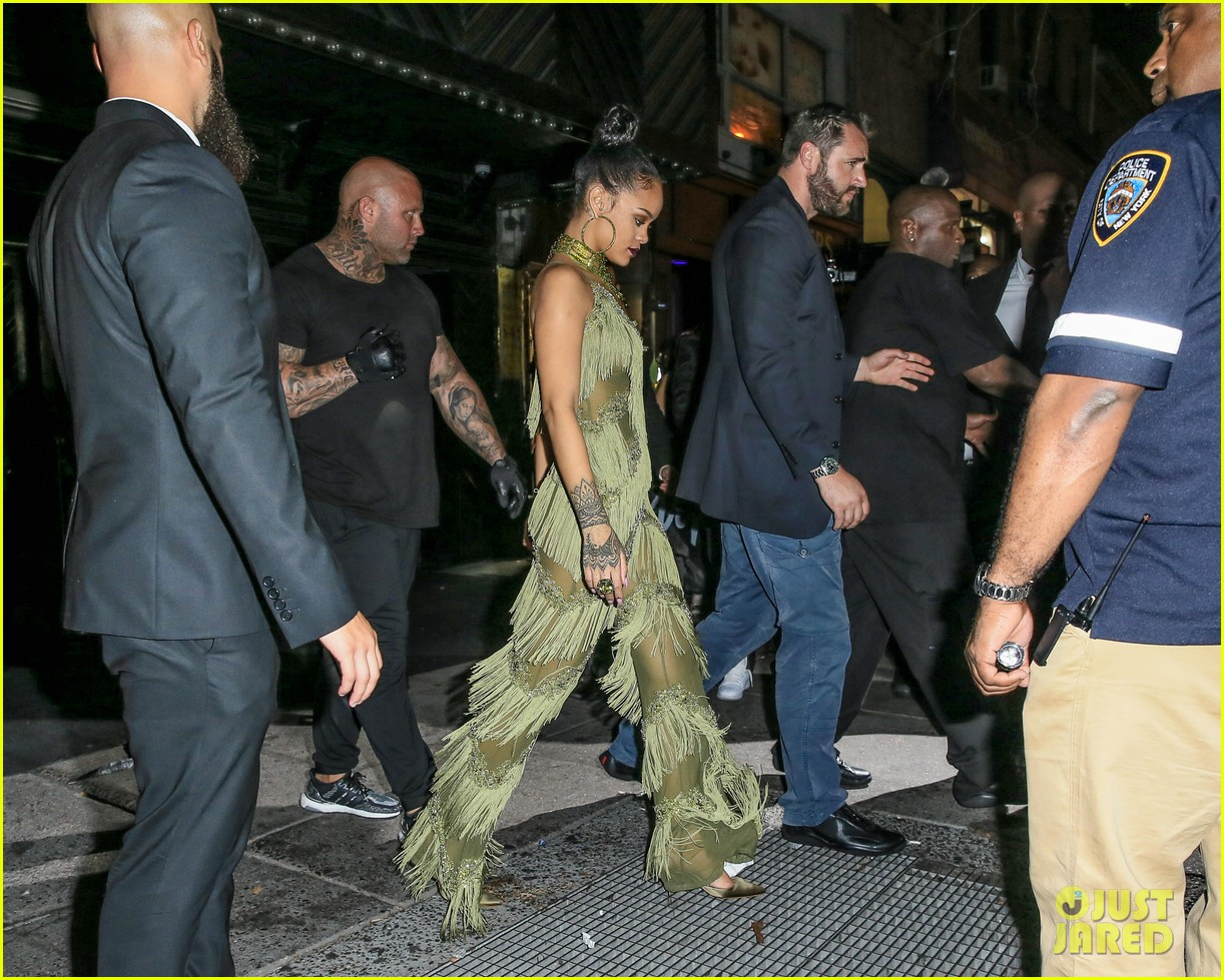 rihanna drake leave vmas after party together 253744258