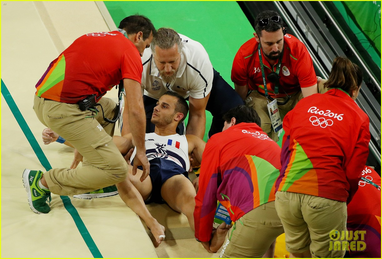 samir ait said breaks leg in scary rio olympics injury 043727948
