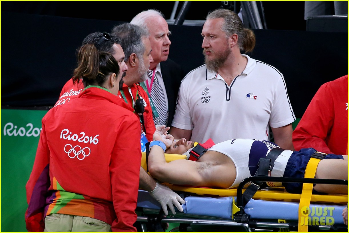 samir ait said breaks leg in scary rio olympics injury 093727953