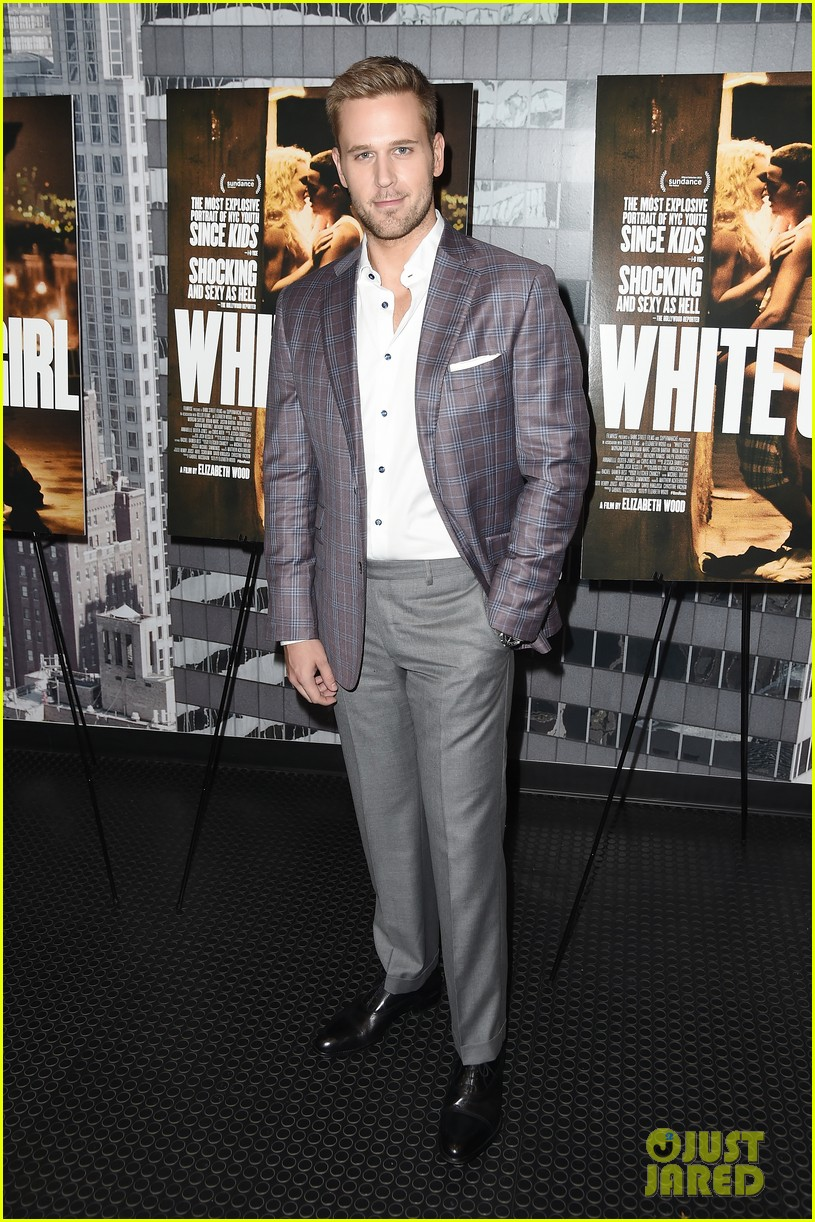morgan saylor justin bartha premiere white girl nyc 193740708